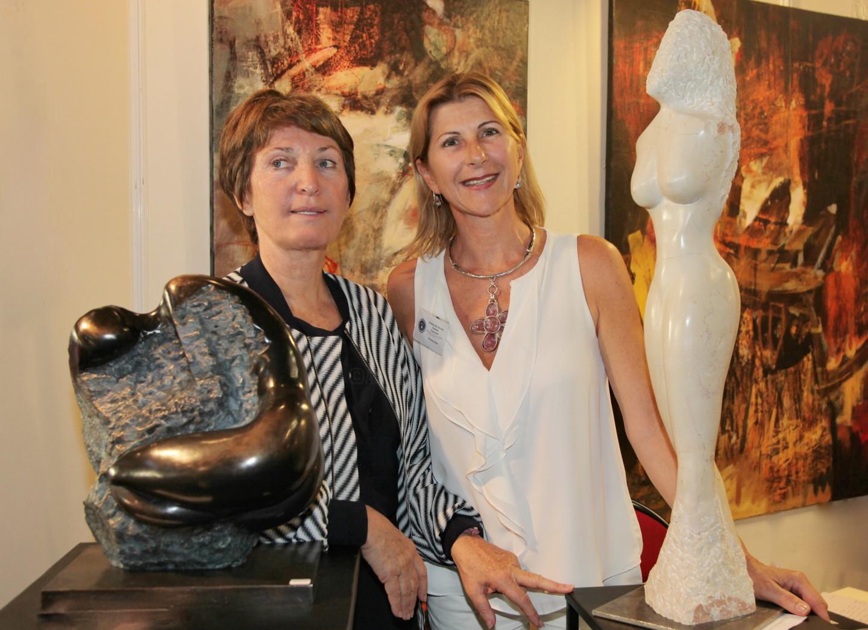Florence   Duet - Exposition Cannes Artistes Du Monde 2015-Invitée d'honneur : Florence Duet avec Marina Picasso