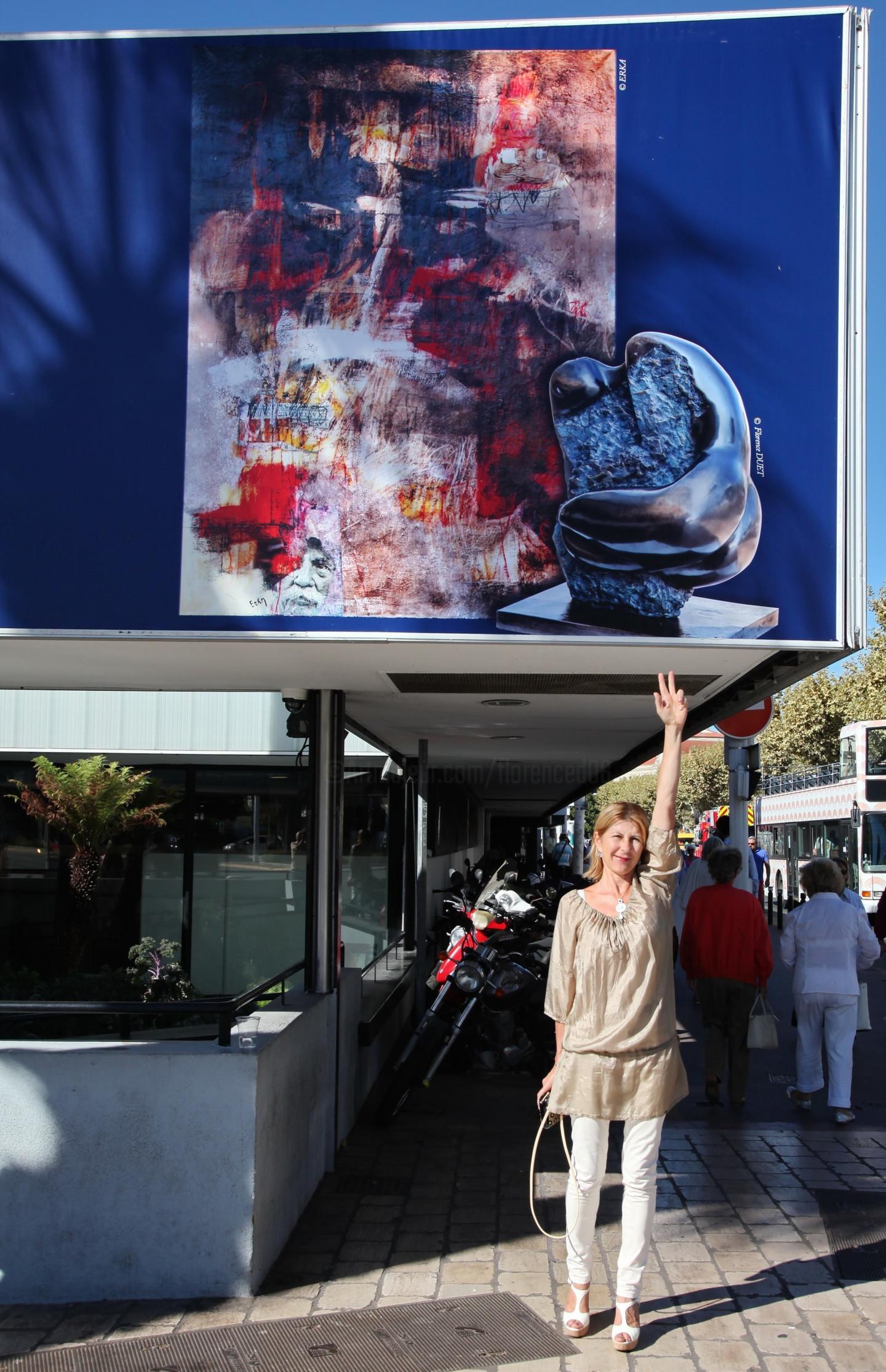 Florence   Duet - Exposition Cannes Artistes Du Monde 2015- Invitée d'honneur Florence Duet