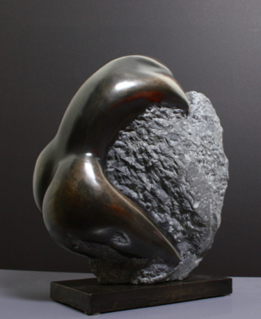 FEMME SERPENT   bronze numéroté 6/8