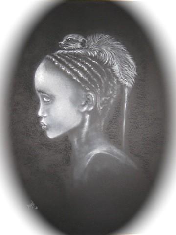 JEUNE ETHIOPIEN